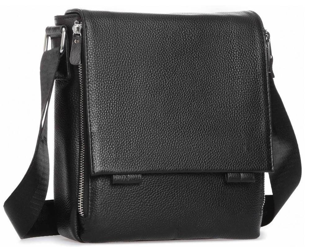 Месенджер чорний чоловічий Tiding Bag A25F-8877A