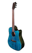 Гітара електроакустична Tyma D-3C CB