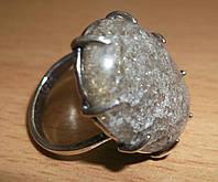 """Крупное  кольцо с раухтопазом """"Колос"""" 18,2 размера от студии LadyStyle.Biz"""