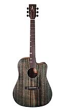 Гітара електроакустична Tyma D-3C BKS