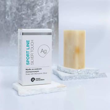 Мило з моніоннім сріблом Invex Remedies - 100 грам MR