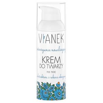 Інтенсивно зволожуючий нічний крем для обличчя Vianek - 50 мл MR