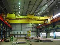 Кран мостовой электрический двухбалочный  г/п 3,2 т изготовление.