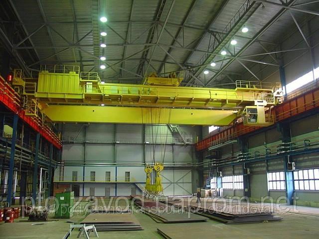 Кран мостовой электрический двухбалочный  г/п от 50 до 100т.