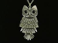 Кулон Сова символ мудрости