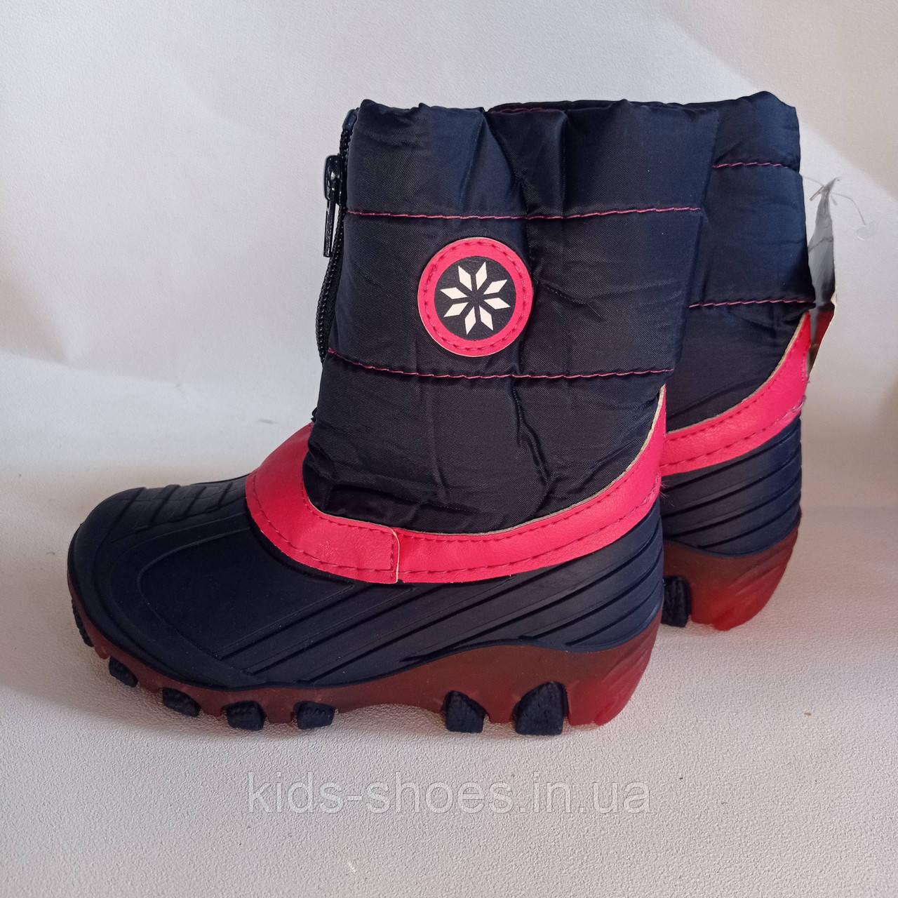 Зимові гумові чобітки дитячі LUPILU® LED