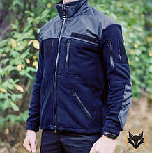 Форменная флисовая кофта для полиции, ДСНС темно-синяя