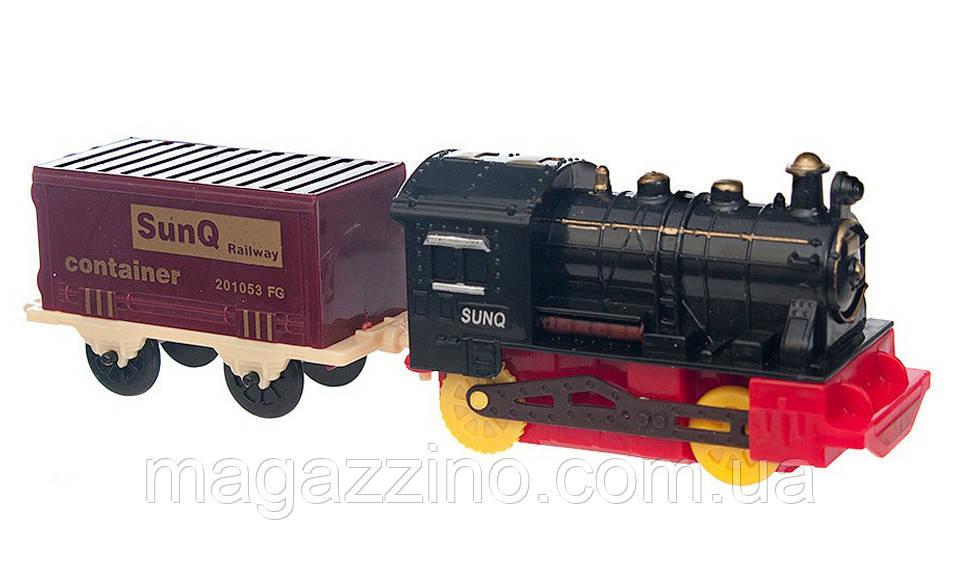 """Дитячий іграшковий паровоз """"Train Set"""""""