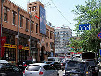 Брандмауэр на Бессарабском рынке