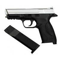 Пневматический пистолет KWC KM-48 SDHN silver metal slide, фото 1