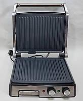 Гриль електричний DSP KB1036 професійний з функцією контролю температури [2000 ВТ]