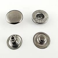 Кнопка Альфа 12,5 мм №54 Блек Нікель (720шт.)