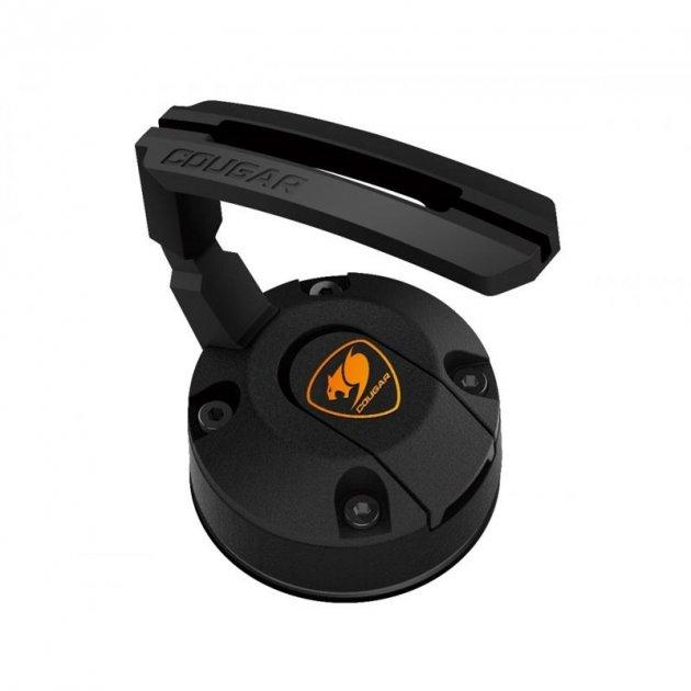 Тримач кабелю для миші Cougar Bunker Black (гнучкий, вакуумна фіксація) (код 95018)
