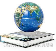 Левитирующий глобус на книге 6 дюймов Levitating globe