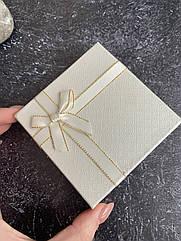 Подарочная упаковка, коробка под украшения бижутерию шампань