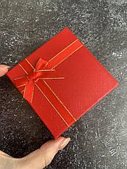 Подарочная упаковка, коробка под украшения бижутерию красный