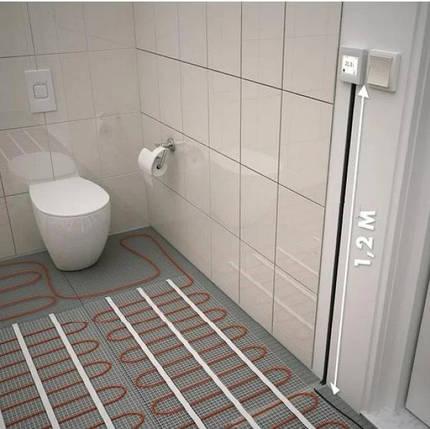 Тепла підлога - Мат нагрівальний Fenix LDTS М 160 Вт/м2 - 5,0 м2 800 Вт (Чехія), фото 2