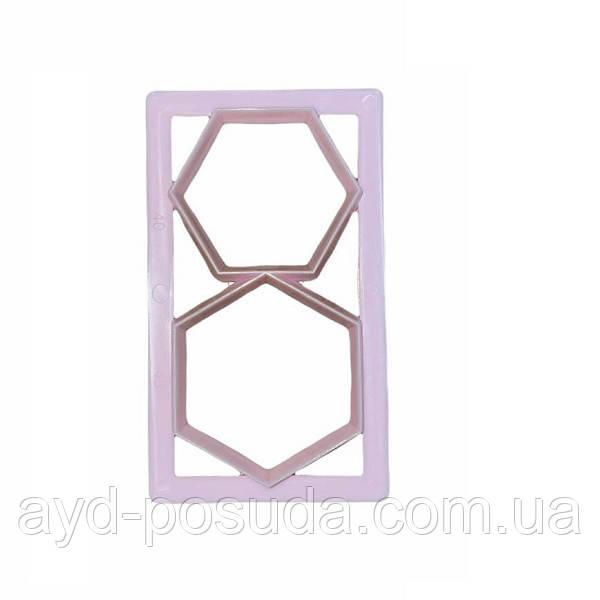 Кондитерская форма для украшения (шестиугольники) B9933-2 арт. 822-7-311