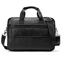 Чоловіча шкіряна сумка Keizer K11688-black