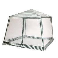 Павильон шатер тент палатка с москитной сеткой и молниями