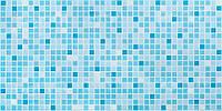 Мозаїка Мікс блакитний 0,3 мм Панель ПВХ Регул 3Д