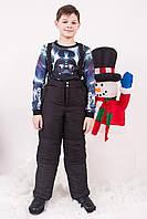 Зимний полукомбинезон для мальчика р.116-122 см