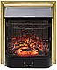 Напольный каминокомплект Fireplace Индия Венге с эффектом мерцающих дров со звуком и обогревом, фото 4