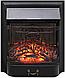 Напольный каминокомплект Fireplace Индия Венге с эффектом мерцающих дров со звуком и обогревом, фото 6
