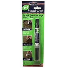 Мягкий  воск,фломастер,шпатель Mohawk Finishing Products 3 in 1 Repair Stick , Цвет Черный