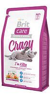 132601 Brit Care Kitten Crazy, 2 кг