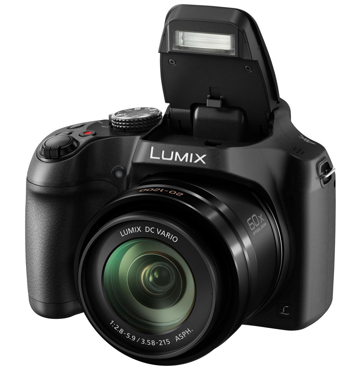 Фотоаппарат  Panasonic Lumix DC-FZ82 Black (DC-FZ82EE-K)
