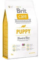 132701 Brit Care Dog Puppy Lamb & Rice, 3 кг