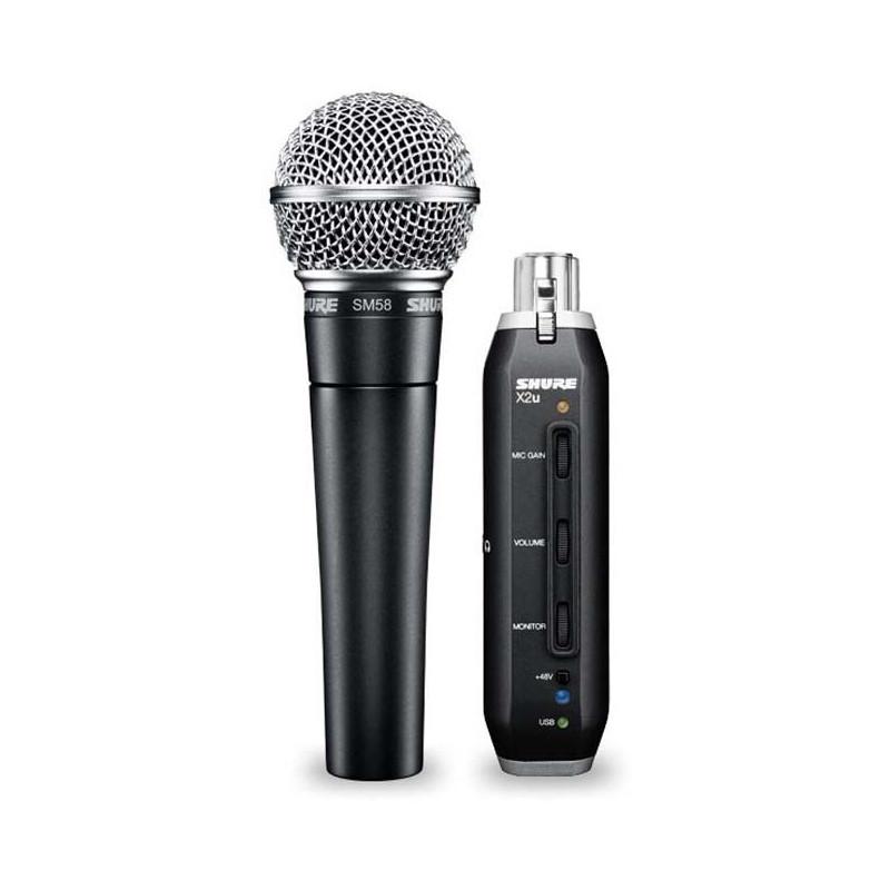 Микрофон Shure SM58-X2u