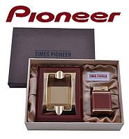 Подарочный набор Pioneer 2 в 1 пепельница и зажигалка №3620