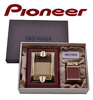 Подарунковий набір Pioneer 2 в 1 попільничка і запальничка №3620