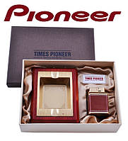 Подарочный набор Pioneer 2 в 1 пепельница и зажигалка №3621