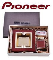 Подарунковий набір Pioneer 2 в 1 попільничка і запальничка №3623