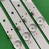 LED підсвічування DLED43GC4X9 GC43D09-ZC21FG-04 GC43D09-ZC21FA-01 GC43D09-ZC23FG-01, фото 2