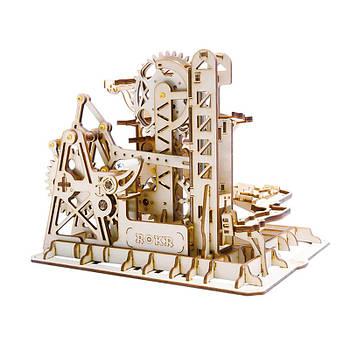 Дитячий дерев'яний 3D конструктор Robotime LG504 Marble Climber
