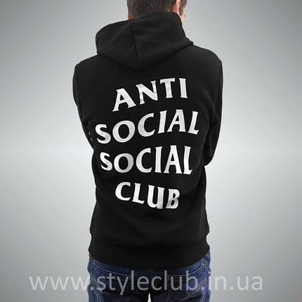 Толстовка antisocial social club | Худи ASSC | Кенгуру АССЦ, фото 2