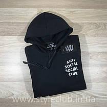 Толстовка antisocial social club | Худи ASSC | Кенгуру АССЦ, фото 3
