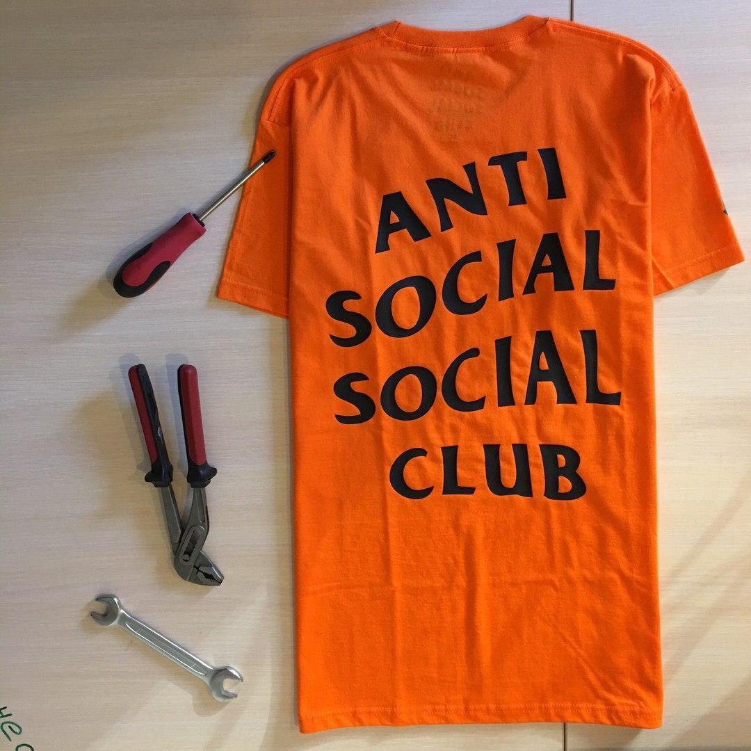 Футболка Undefeated Paranoid Anti Social social club. Всі розміри в наявності