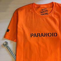 Футболка Undefeated Paranoid Anti Social social club. Всі розміри в наявності, фото 2