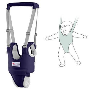 Дитячі віжки-ходунки з додатковими трусиками, подушечками, підкладками Синій (n-810)