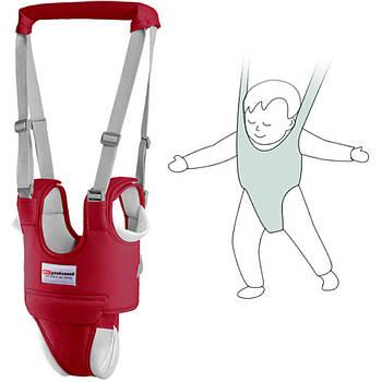 Дитячі віжки-ходунки з додатковими трусиками, подушечками, підкладками Червоний (n-811)