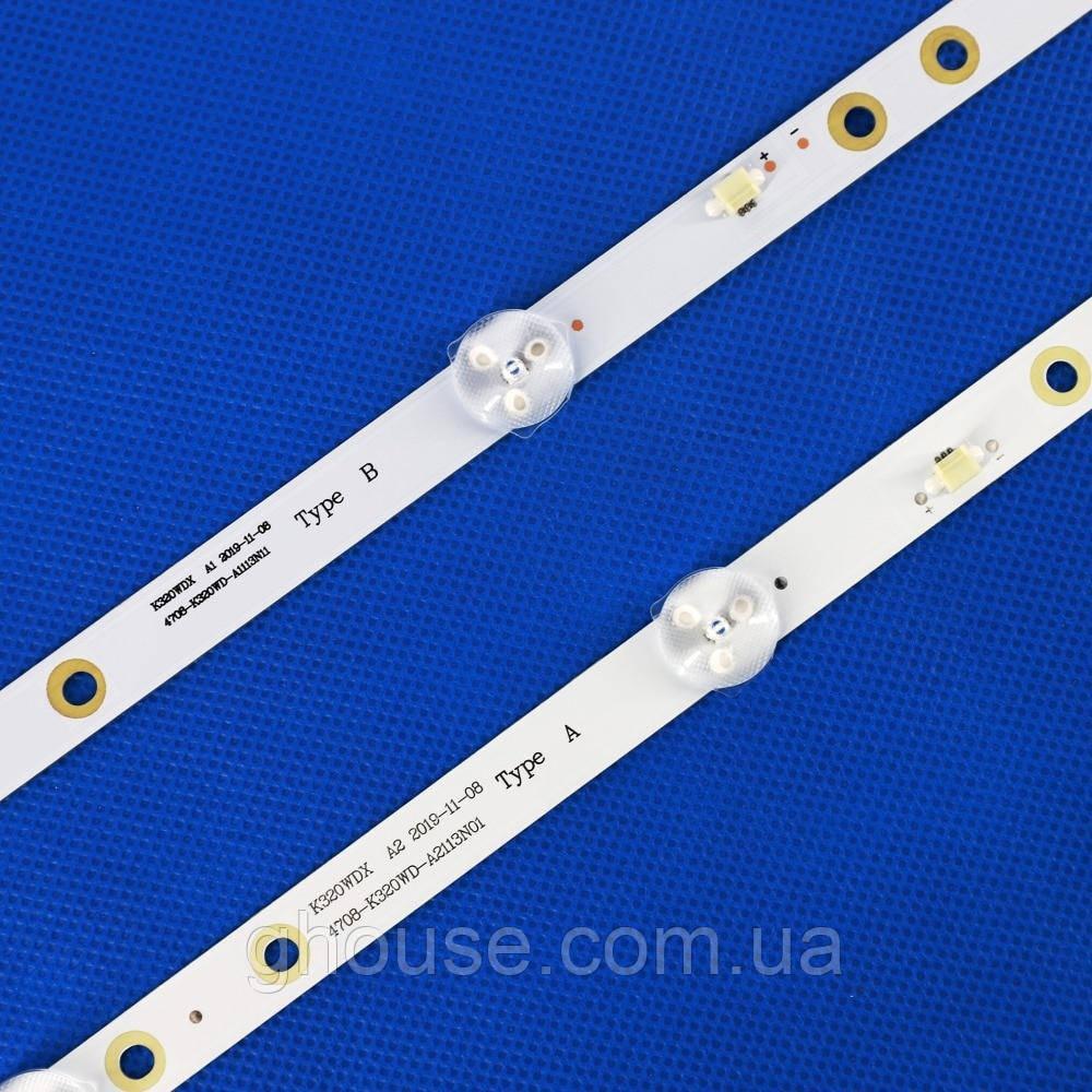 LED підсвічування 4708-K320WD-A2113N01 4708-K320WD-A1113N11