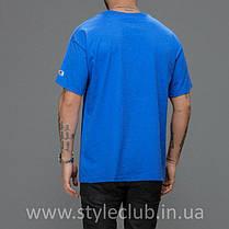 Champion Футболка чоловіча • Синя, фото 2