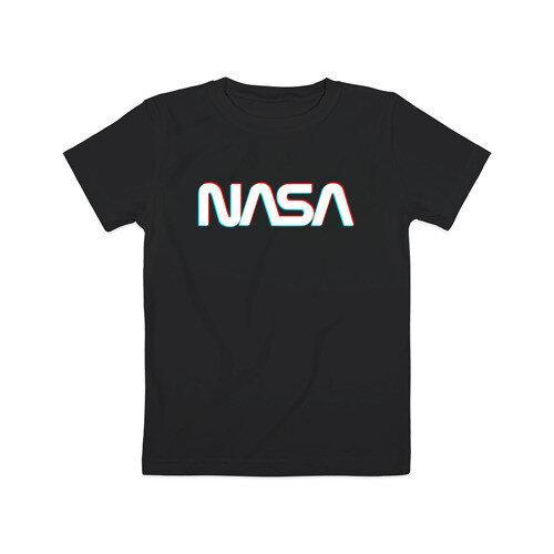 Футболка чёрная NASA • насса
