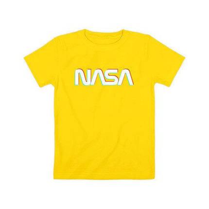 Футболка жовта NASA • насса, фото 2