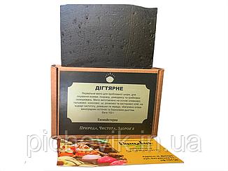 Натуральне мило Дігтярне/tar soap(Україна) Вага:100 грам